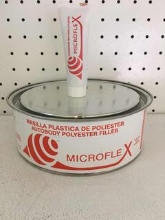 Masilla Plástica Microflex 1/4 Galón