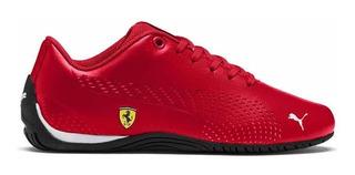Tenis Para Hombre Puma Drift Cat Ferrari Rojo Casuales Piel