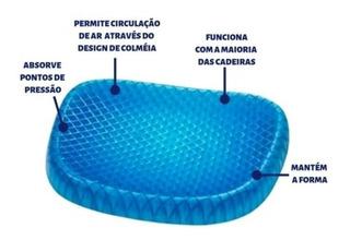 Almofada Egg Sit Assento Em Silicone C/ Capa Lavável