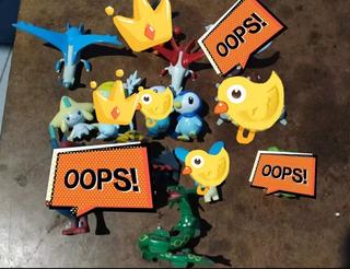 Lote Figuras Pokémon Tomy