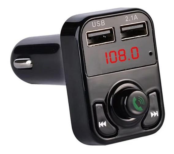 Transmissor Fm Veicular Bluetooth Kit Mãos Livres Chamadas