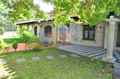Hermosa Casa Estilo Casco De Estancia -ref:19393