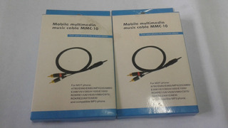 Cable De Música Multimedia Móvil Mmc-10
