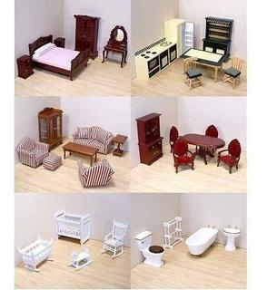 Melissa & Doug Deluxe Victoriana Muebles Casa De Muñecas