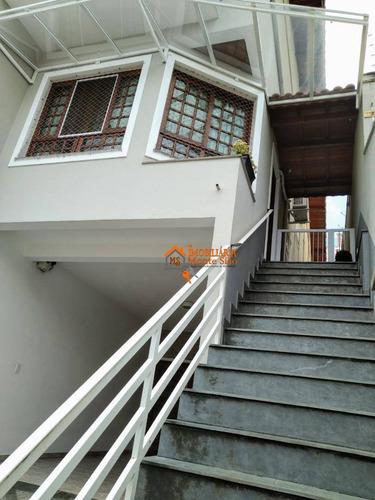 Sobrado Com 2 Dormitórios À Venda, 158 M² Por R$ 755.000,00 - Parque Renato Maia - Guarulhos/sp - So0675