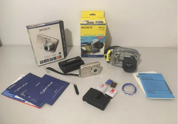 Camara Digital Sony Dsc - N2 + Accesorios Usado(40vrdes)