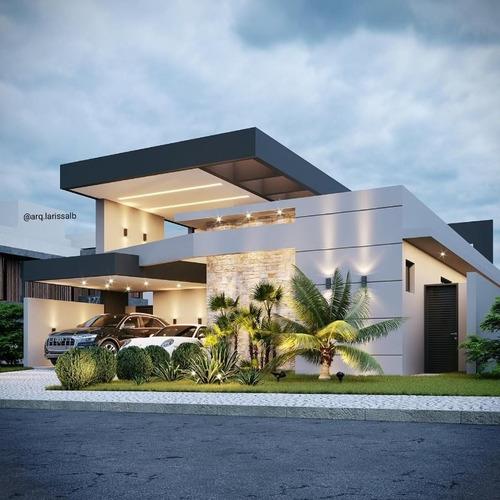 Imagem 1 de 4 de Casa Com 3 Dormitórios À Venda, 207 M² Por R$ 1.395.000 - Condomínio Terras De Siena - Ribeirão Preto/sp - Ca0437