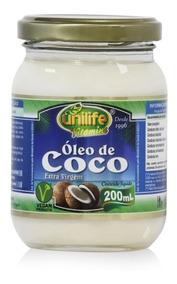 Óleo De Coco Líquido 200ml