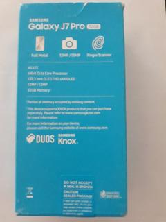 Samsung J7 Pro 32 Gb Nuevo En Caja Liberado