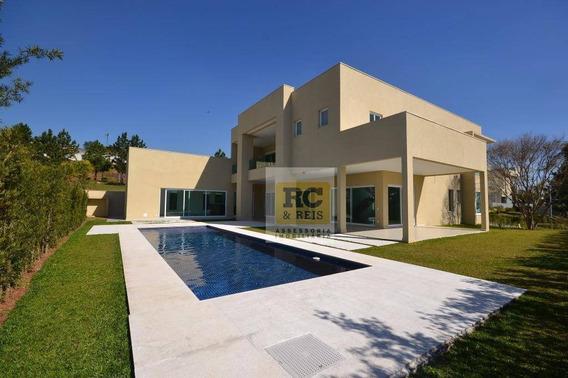 Casa Com 5 Dormitórios À Venda, 750 M² Por R$ 6.500.000,00 - Villa Solaia - Barueri/sp - Ca1039