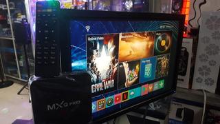 Oferta Monitor De 24 Pulgada Con Tv Box 4k Con Control Y Su