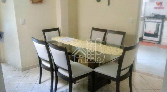 Casa Residencial À Venda, Fonseca, Niterói. - Ca0645
