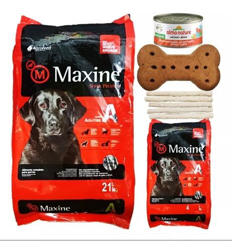 Imagen 1 de 2 de Maxine Perro Adulto 21kg + Regalo Eleccion + Env