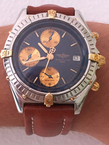 Relógio Breitling Automático 38mm, Safira Aço E Ouro.
