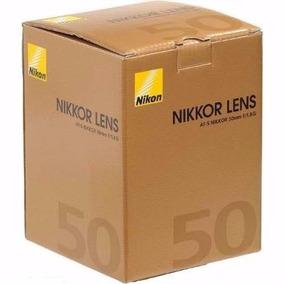 Lente Nikon 50mm F/1.8g Af-s Fx Autof Case+paras Pta-entrega