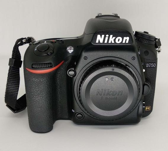 Nikon D750 Corpo - Somente Estado De São Paulo E Via Sedex