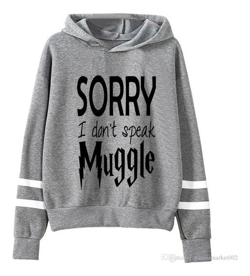 Buzo Harry Potter Sorry Muggle Hoodie