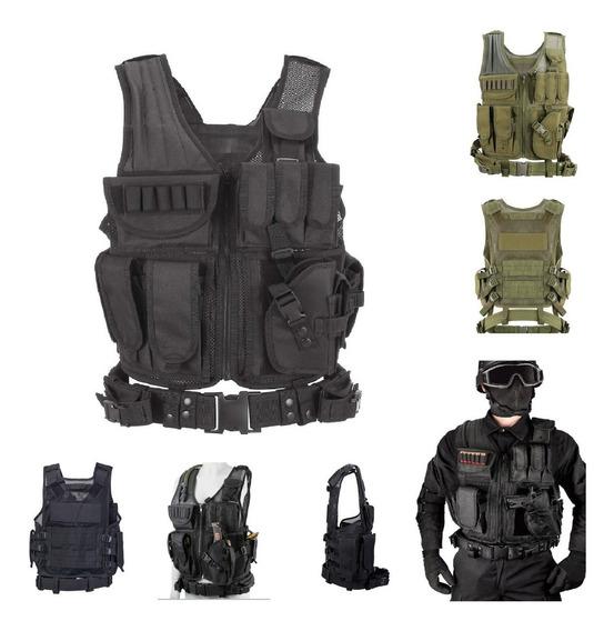 Chaleco Táctico Militar Policial Multiusos Mod Decode - M55