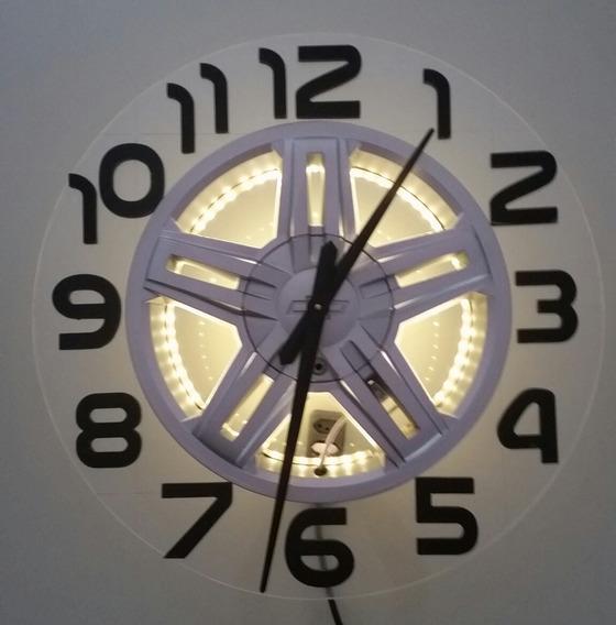 Relógio De Parede Com Roda De S-10 Executiva