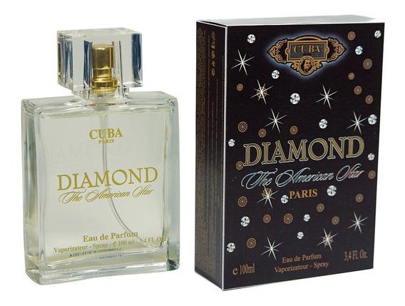 Perfume Cuba Diamond Edp Masculino 100ml Original