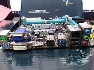 Motherboar Biostar Intel Fox Com H81 1150 Ddr3 Vga Ddr3