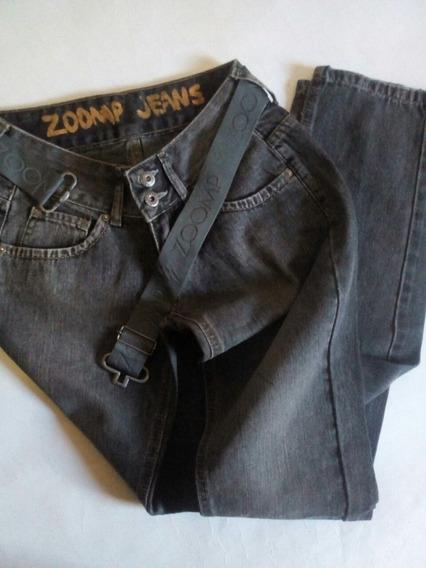 Calça Jeans Feminina 34 Zoomp Básica Reta