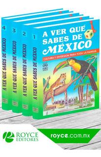 A Ver Qué Sabes De México 4 Volúmenes