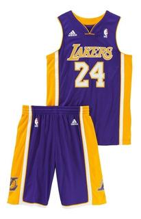 Conjunto Niño adidas Kobe Bryant Nba La Lakers Original