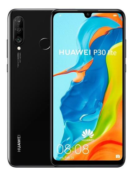 Huawei P30 Lite Midnight Black Dual Sim 4gb+128gb