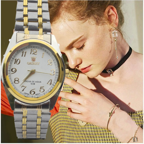 Relógio Feminino De Pulso Mesclado Orimet Super Promoção .