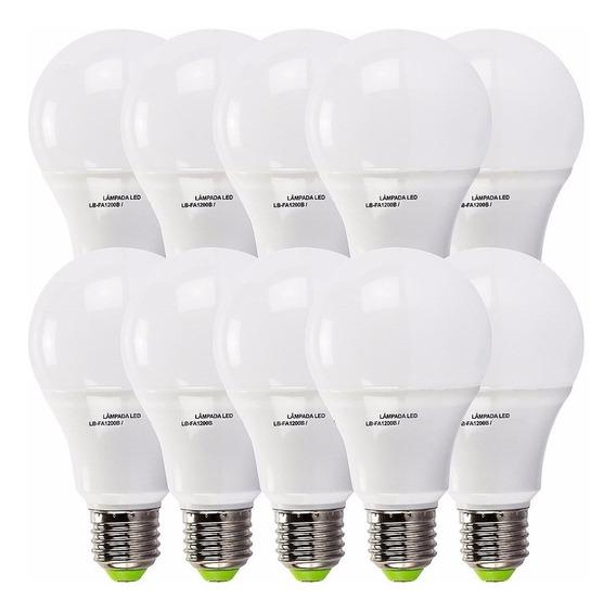 Kit 50 Lampada Led 16w Bulbo Soquete E27 Bivolt Casa Comerci
