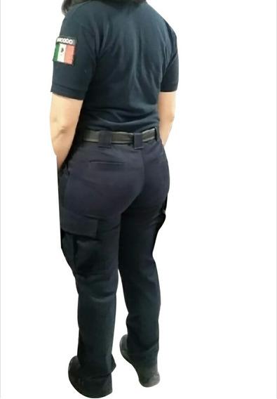 Pantalón Táctico Mujer, Gabardina Strech O Ripstop