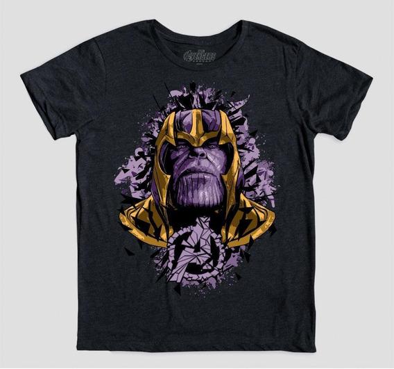 Máscara De Latex Playera Avengers Endgame Thanos