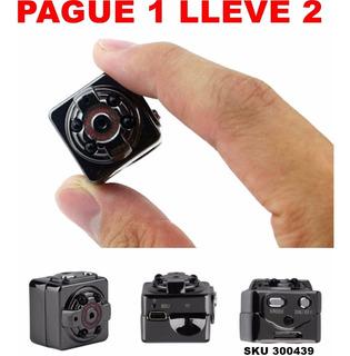 Paga1 Lleva2 Mini Camara Espia Vision Nocturna Hd 1080p W01