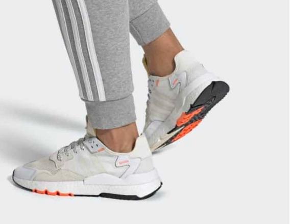 adidas Nite Jogger Blancos Us8, Mx 6