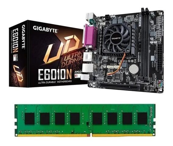 Combo Kit Actualización Amd Gigabyte E6010n Radeon 4gb King