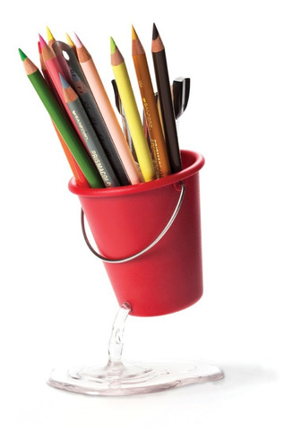 Imagen 1 de 4 de Portalapices Desk Bucket -ponele Onda A Tu Rutina!