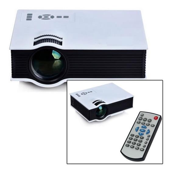 Mini Projetor Led Uc40 Melhor Qualidade Veja Video Tutorial!