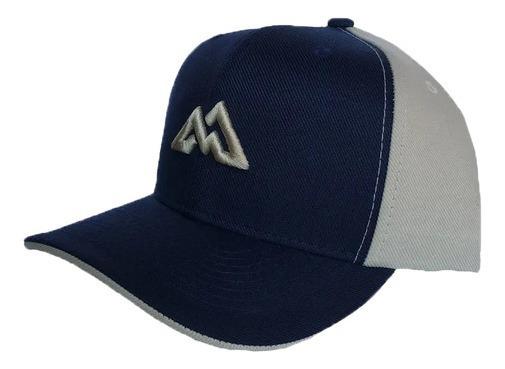 Boné Mountain Wear Azul E Bege / M002