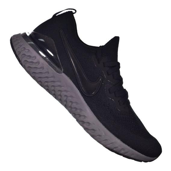 Tênis Nike Epic React Flyknit 2 Preto/chumbo