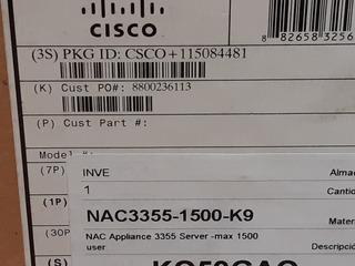 Servidor Cisco Nac3355 Nuevo