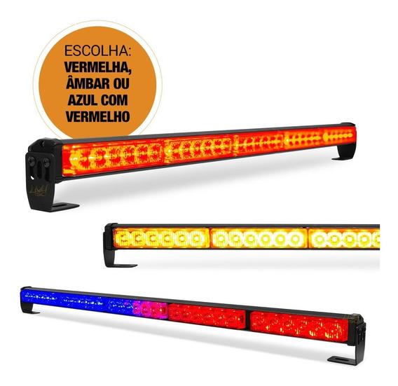 Giroflex Luz Emergencia Sinalizador Âmbar Vermelho Ou Azul E Vermelho Para Guincho Policia Segurança Manutenção Rodovias