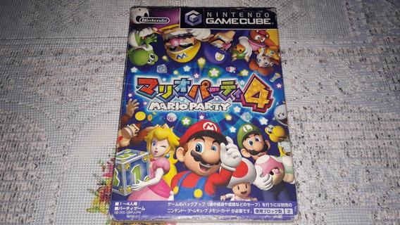 Mario Party 4 Completo Nintendo Gamecube Japonês