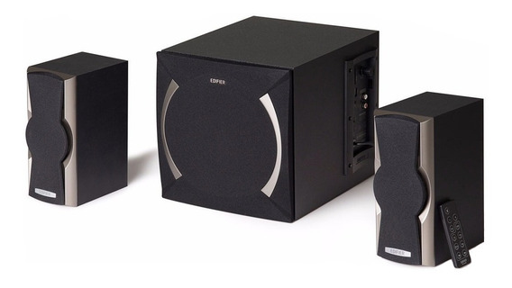 Parlante Edifier 2.1 XM6BT inalámbrico Black 100V/240V
