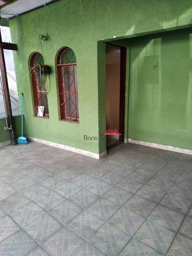 Casa Com 3 Dormitórios Para Alugar, 70 M² Por R$ 2.200/mês - Vila Guilhermina - São Paulo/sp - Ca0397