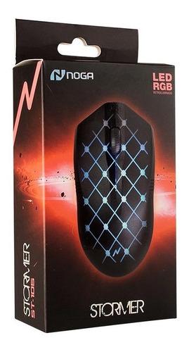 Mouse Gamer Led Rgb 1000 Dpi Stormer St-105 Noga