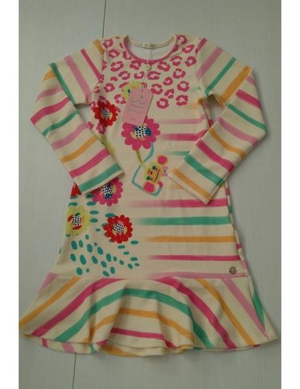 Vestido Feminino Infantil Malagah