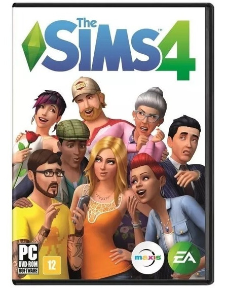 Jogo Novo Lacrado Da Ea Games The Sims 4 Para Pc Rj