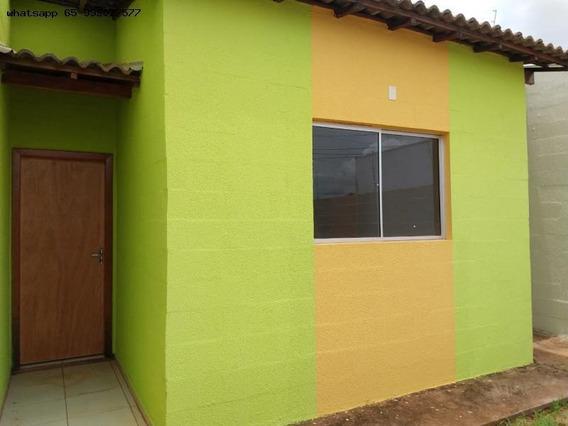 Casa Para Venda Em Várzea Grande, Costa Verde, 2 Dormitórios, 1 Banheiro, 2 Vagas - 202_1-1304994