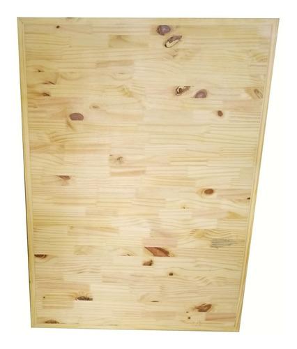 Tampo De Mesa E Balcão Em Madeira Reciclada  60x90 Super Resistente, Decoração Sustentavel Para Seu Ambiente